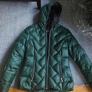 Women's Emerald Green Guess Puffer Jacket